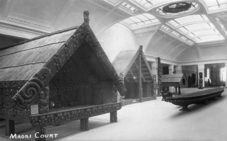 The Maori Court, Auckland War Memorial Museum (completed 1929)
