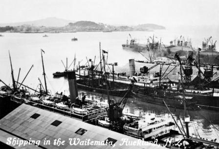Shipping in the Waitemata
