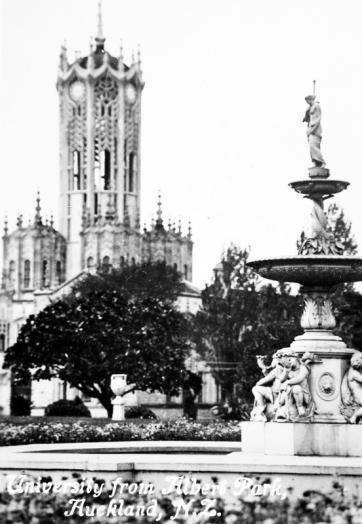 University from Albert Park