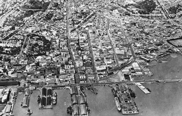 Aerial View of CBD