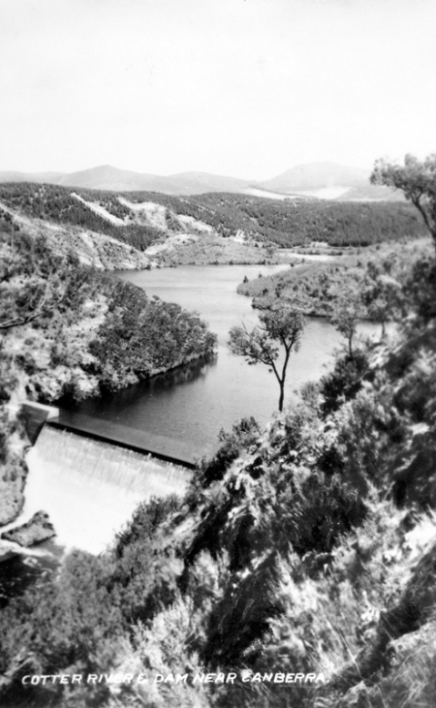 Cotter River Dam near Canberra