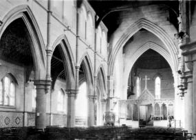 Interior of Christchurch Cathedral