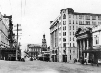 Princes Street, showing GPO