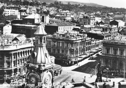 Dunedin from top of GPO