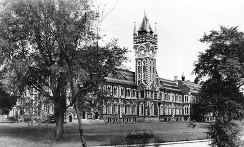 University of Otago Registry Building/ Clocktower Building, completed 1879