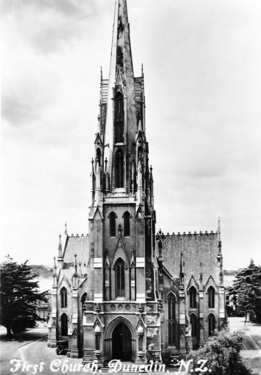 First Church Dunedin (built 1848)