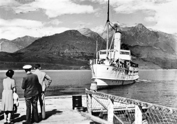 T.S.S. Earnslaw on Lake Wakatipu