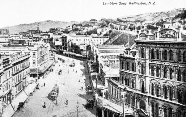 Lambton Quay, circa 1904