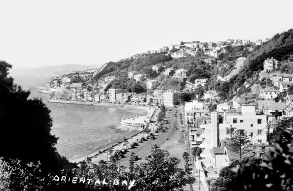 Oriental Bay, view from Moeller Street