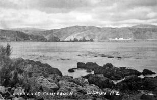 Breaker Bay, harbour entrance