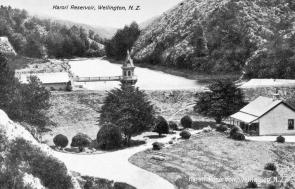 Karori Reservoir, 1904