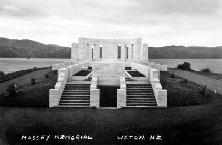 Massey Memorial (Unveiled 1930)