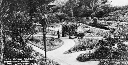 The Rose Garden, Newtown Park