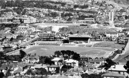 Basin Reserve and Mt Cook