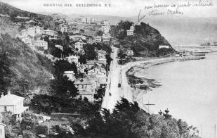 Oriental Bay circa 1908