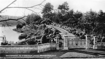 Entrance to Virginia Lake