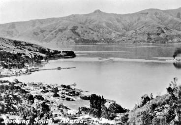Southern view, Akaroa