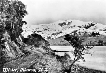 Winter in Akaroa