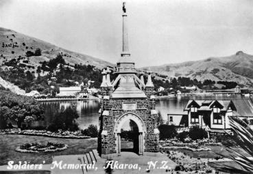 Akaroa: Soldiers' Memorial