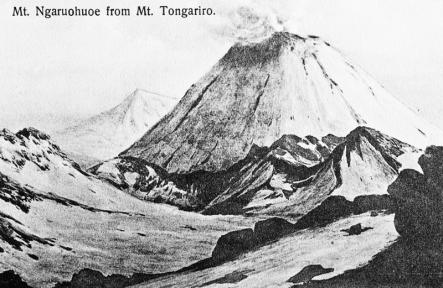 Mt Ngāuruhoe