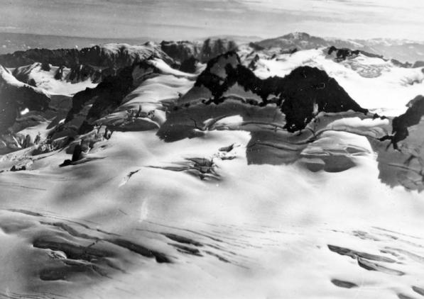 Ice Field at head of Franz Josef Glacier