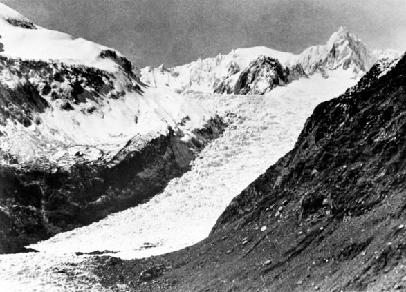 Fox Glacier Peak and Mt Douglas