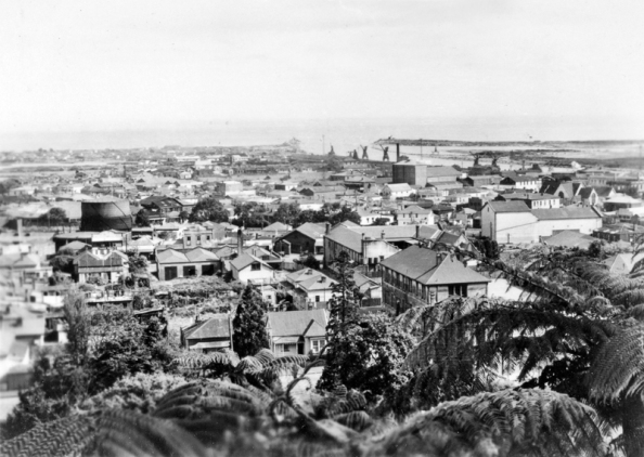 General view of Greymouth