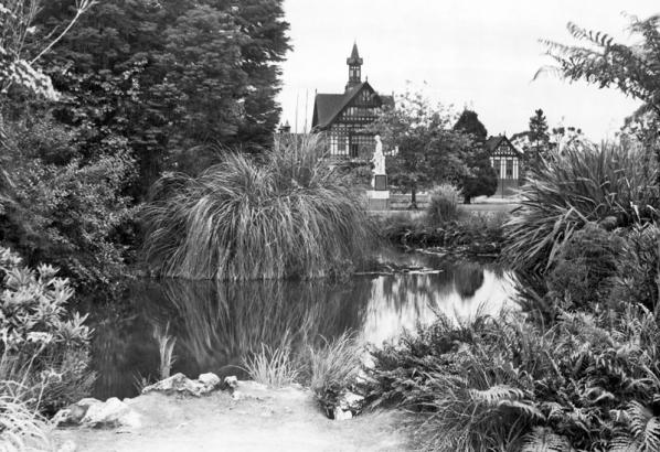 Rotorua Bath House (opened in 1908)