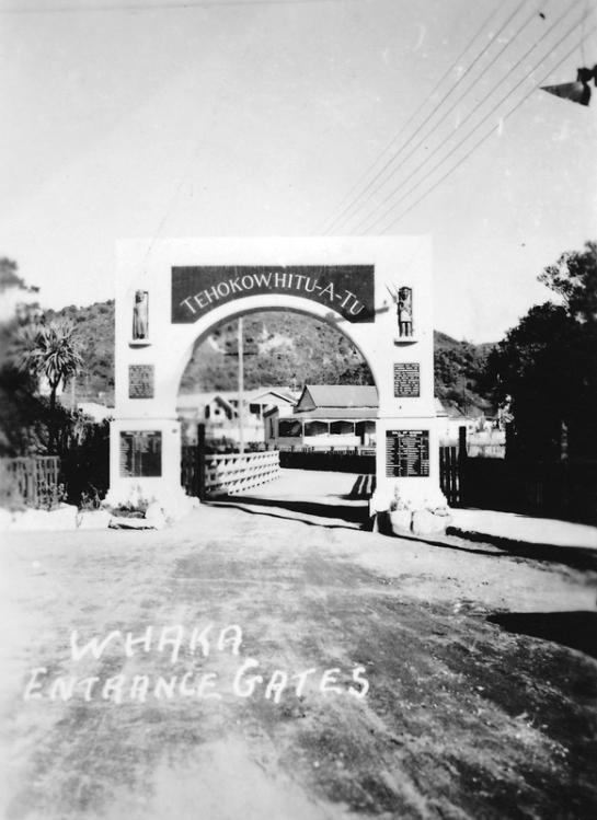 Entrance to Whakarewarewa (Whaka)