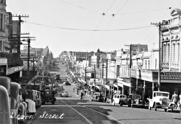 Devon Street, New Plymouth