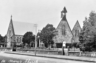 St Mary's Church, New Plymouth (built in 1845-46)