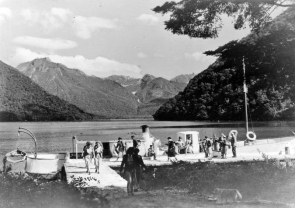 Glade House Landing, Lake Te Anau
