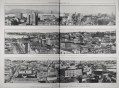 """Taken from the supplement to the Auckland Weekly News 01 AUGUST 1912 p009 The set of images shows the cities of the Great British Pacific Mail Route. The top image shows a panoramic view of Vancouver. It's description reads: """"The Candian Terminus Of The Great British Pacific Mail Route: A Panoramic View Of Vancouver, British Columbia, The Principal Pacific Port Of Canada"""". Image courtesy of Sir George Grey Special Collections, Auckland Libraries, 1-W985"""