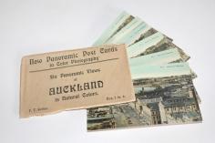 The set of colour postcards